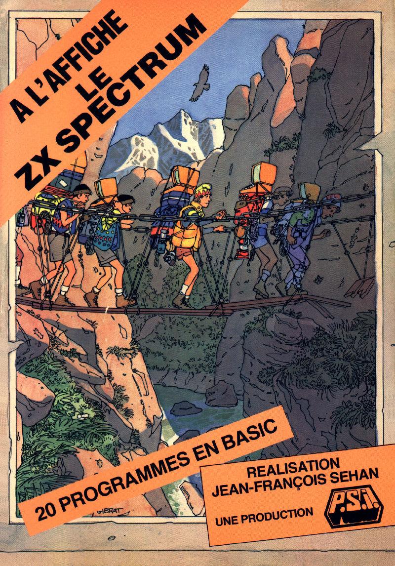 A l'Affiche le ZX Spectrum image, screenshot or loading screen