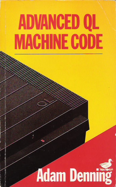 Advanced QL Machine Code screen