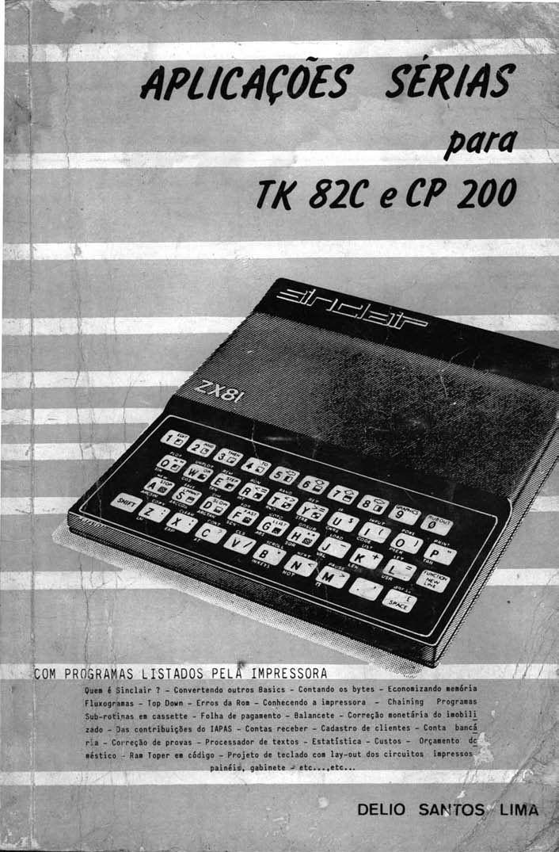 Aplicacoes Serias para ZX81, TK82C e CP200 image, screenshot or loading screen