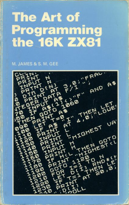 The Art of Programming the 16K ZX81 image, screenshot or loading screen