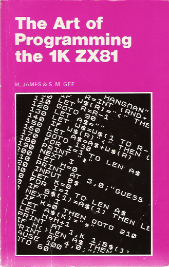 The Art of Programming the 1K ZX81 image, screenshot or loading screen