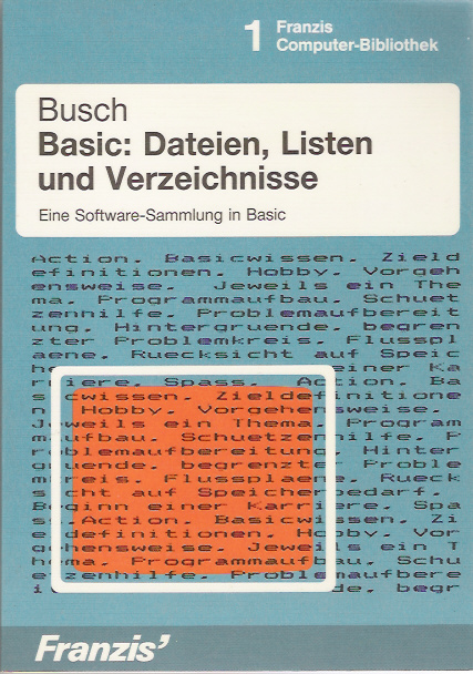 Basic: Dateien, Listen und Verzeichnisse screen