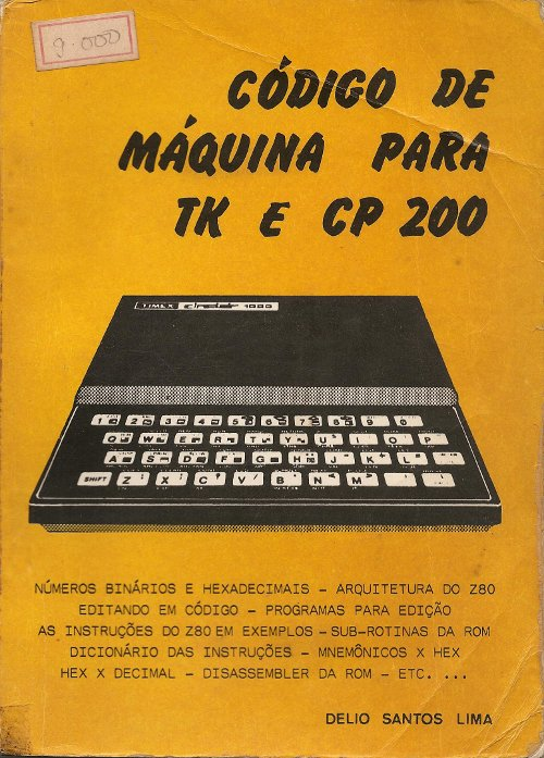 Codigo de Maquina para TK e CP 200 image, screenshot or loading screen