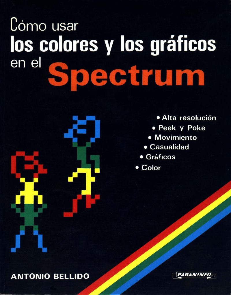 Como Usar los Colores y los Graficos en el Spectrum image, screenshot or loading screen
