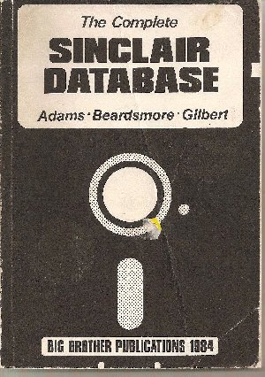 The Complete Sinclair Database screen