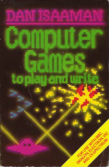 Computer Games to Play and Write screen