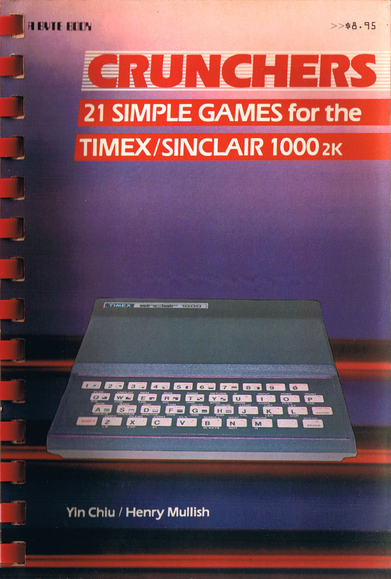 Crunchers: 21 Simple Games for the Timex/Sinclair 1000 2K image, screenshot or loading screen