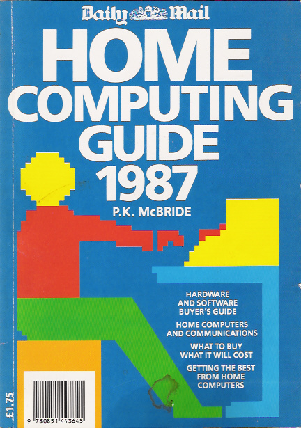 Daily Mail Home Computing Guide 1987 screen