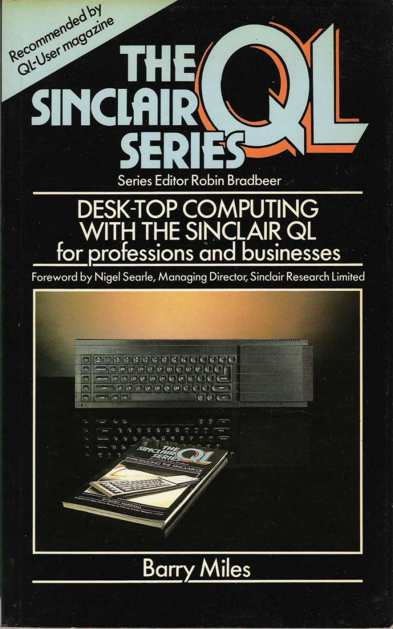 Desk-Top Computing with the Sinclair QL screen