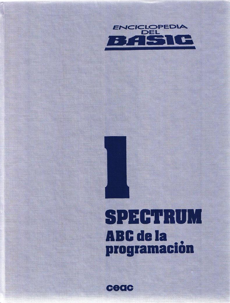 Enciclopedia del BASIC Spectrum image, screenshot or loading screen