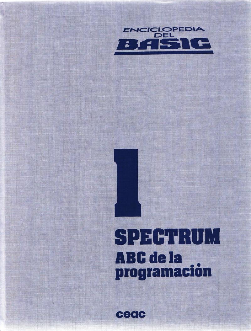 Enciclopedia del BASIC Spectrum 1: ABC de la Programacion image, screenshot or loading screen