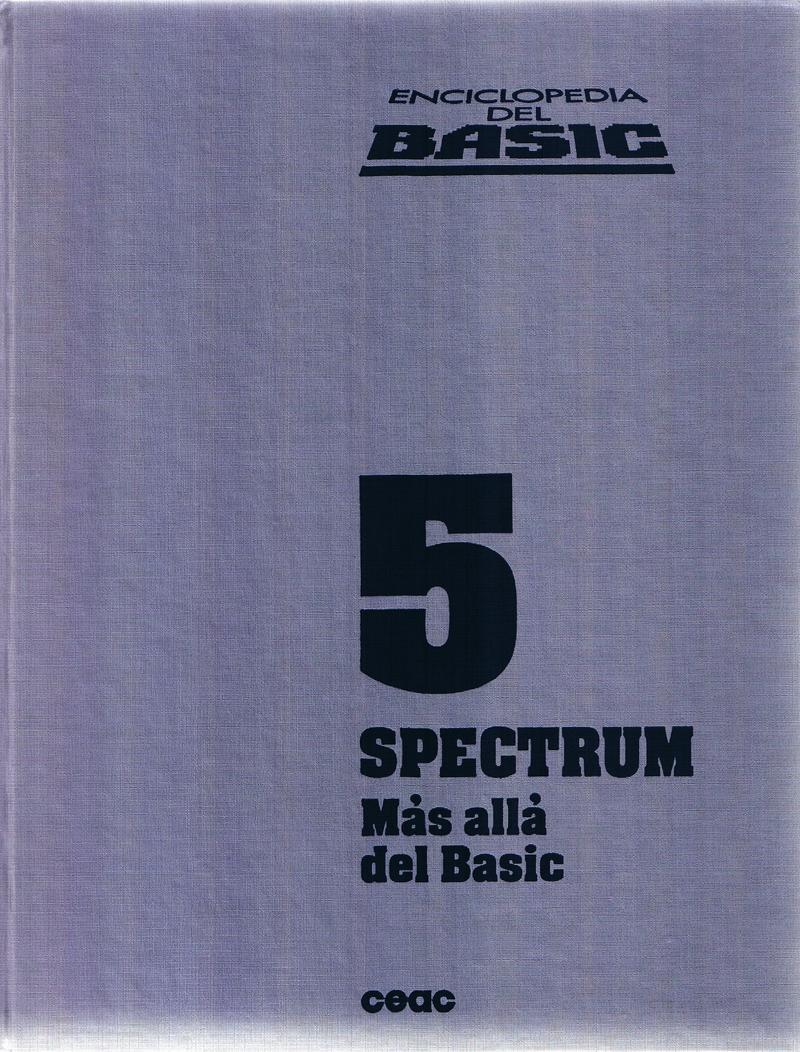 Enciclopedia del BASIC Spectrum 5: Mas Alla del Basic image, screenshot or loading screen