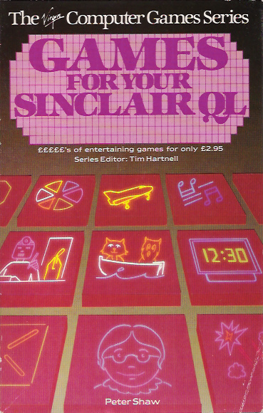 Games for Your Sinclair QL screen