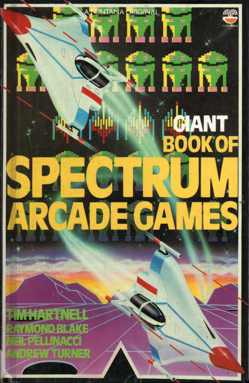 Giant Book of Spectrum Arcade Games screen