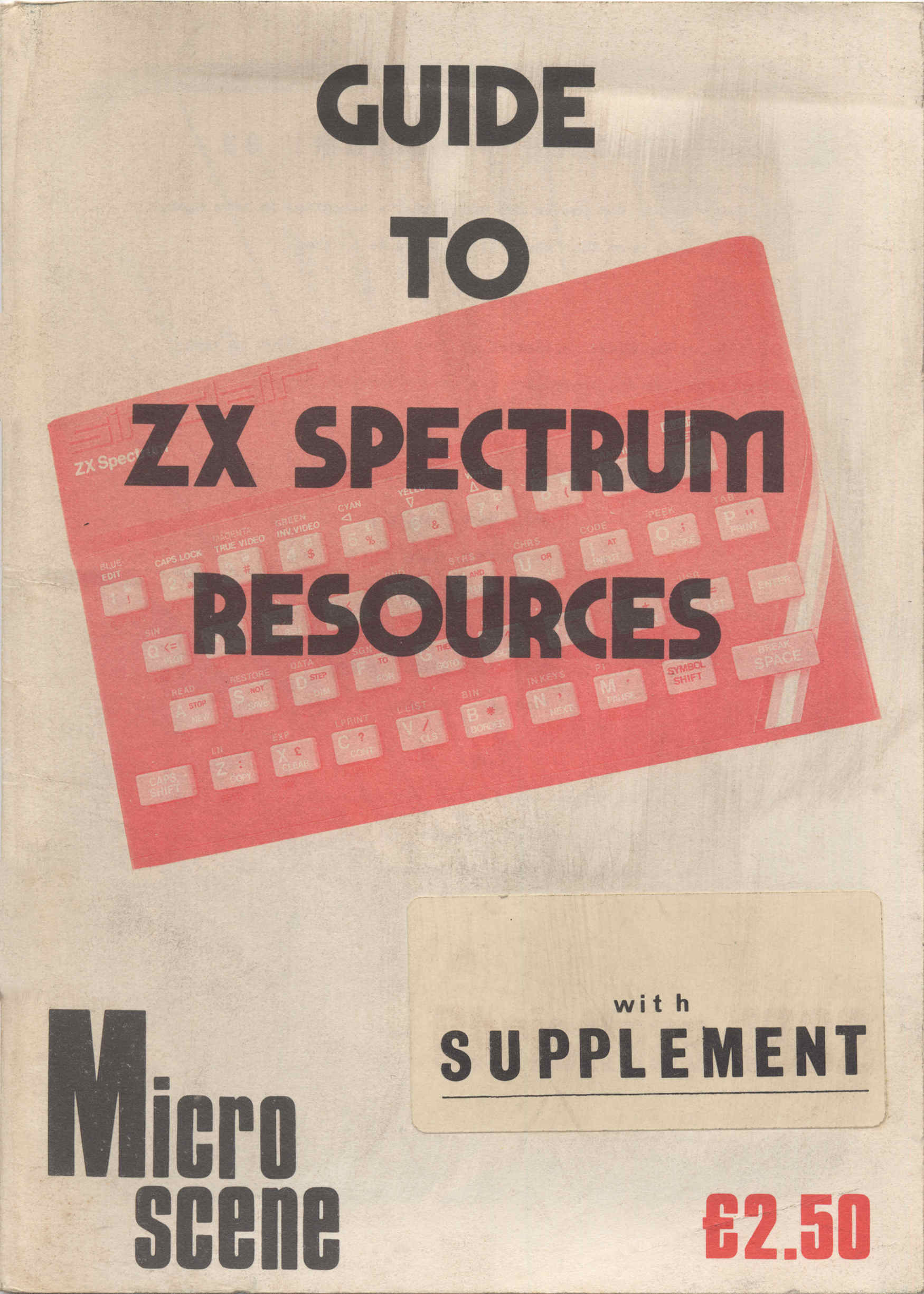 Guide to ZX Spectrum Resources screen