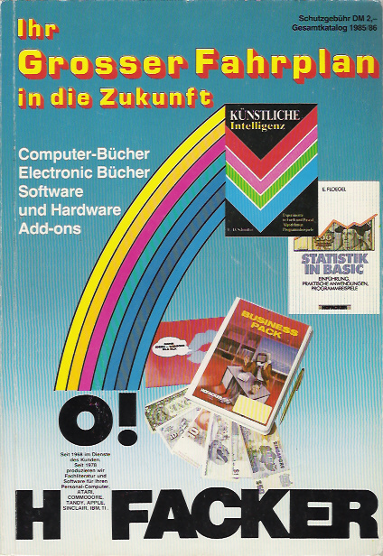 Ihr Grosser Fahrplan in die Zukunft, Edition 1985-86 screen