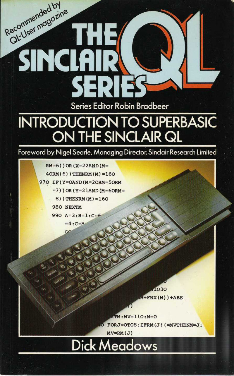 Introduction to Superbasic on the Sinclair QL screen