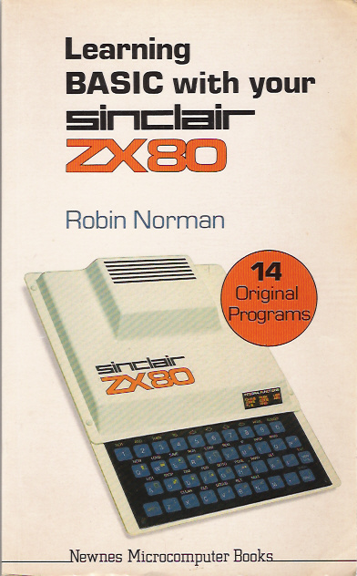 Learning BASIC with Your Sinclair ZX80 image, screenshot or loading screen