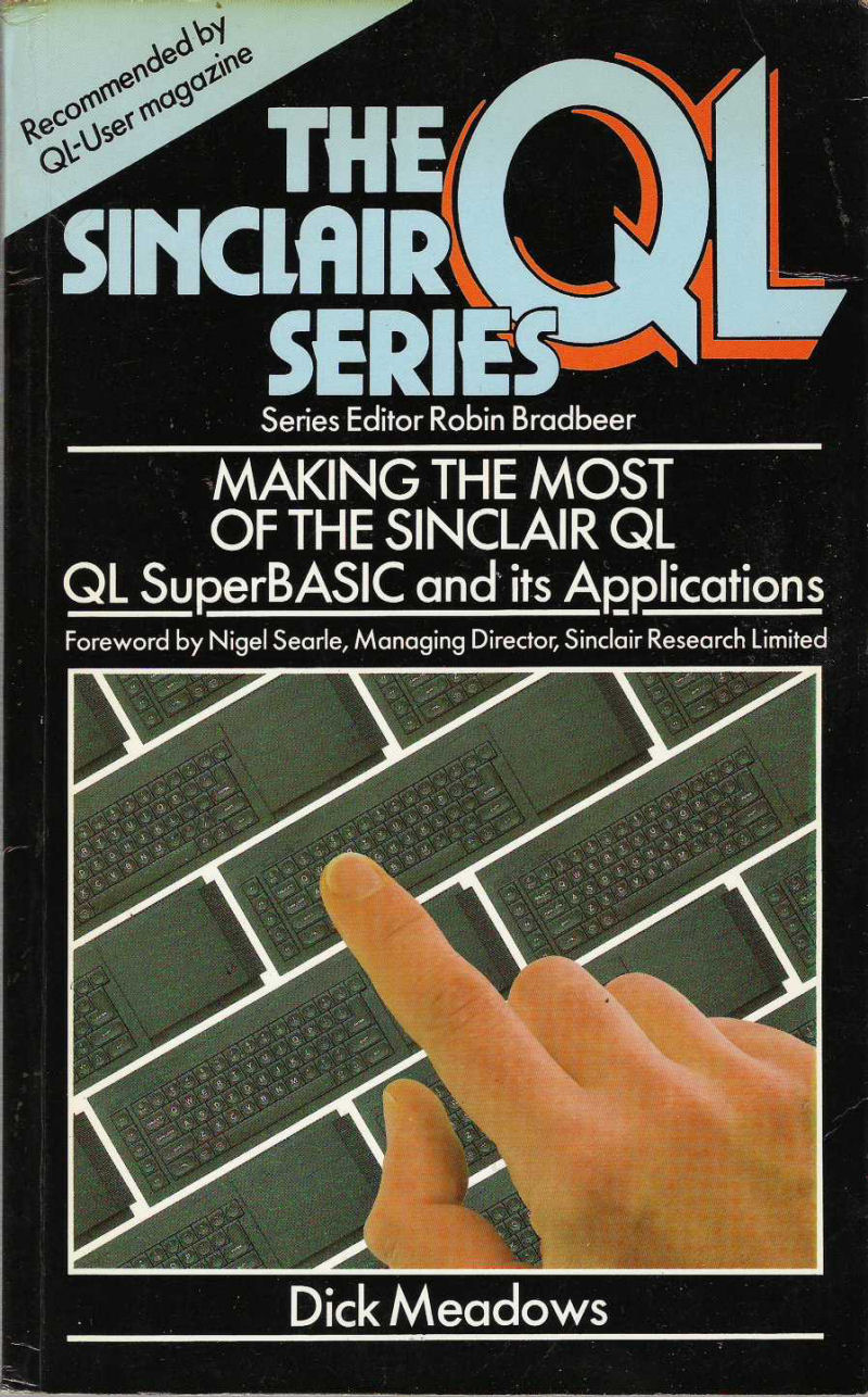 Making the Most of the Sinclair QL: QL Superbasic and Its Applications screen
