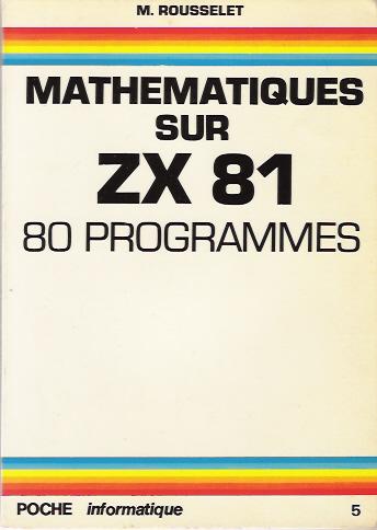 Mathematiques sur ZX 81 image, screenshot or loading screen