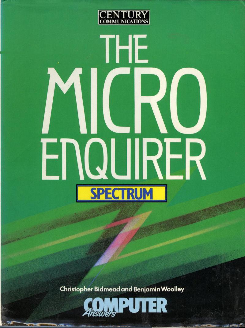 The Micro Enquirer: Spectrum screenshot