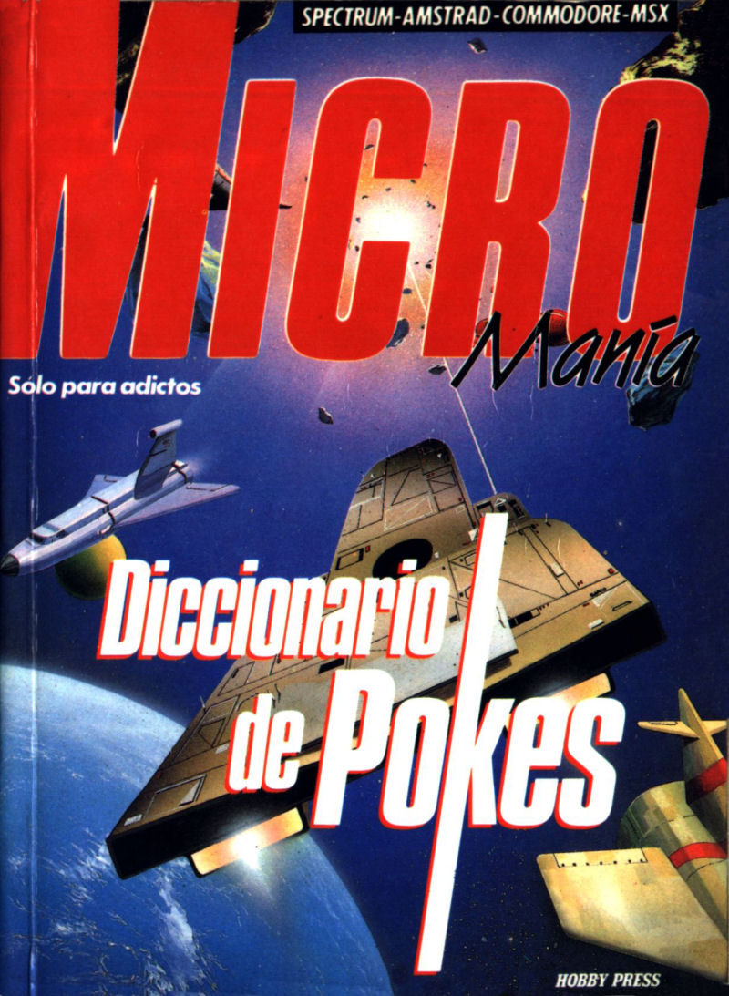 MicroMania: Diccionario de Pokes image, screenshot or loading screen
