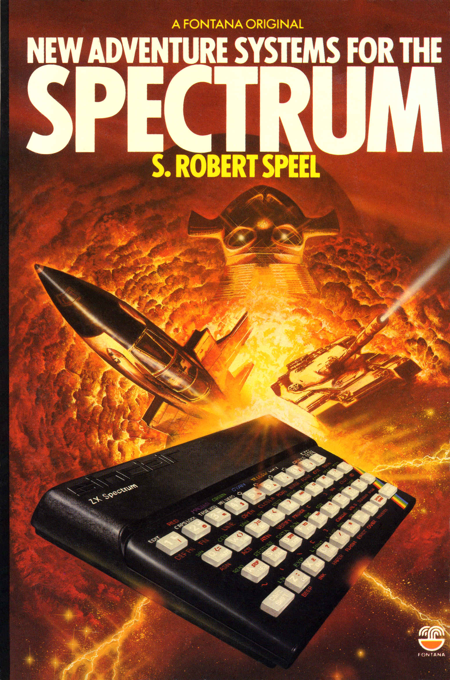 New Adventure Systems for the Spectrum screen