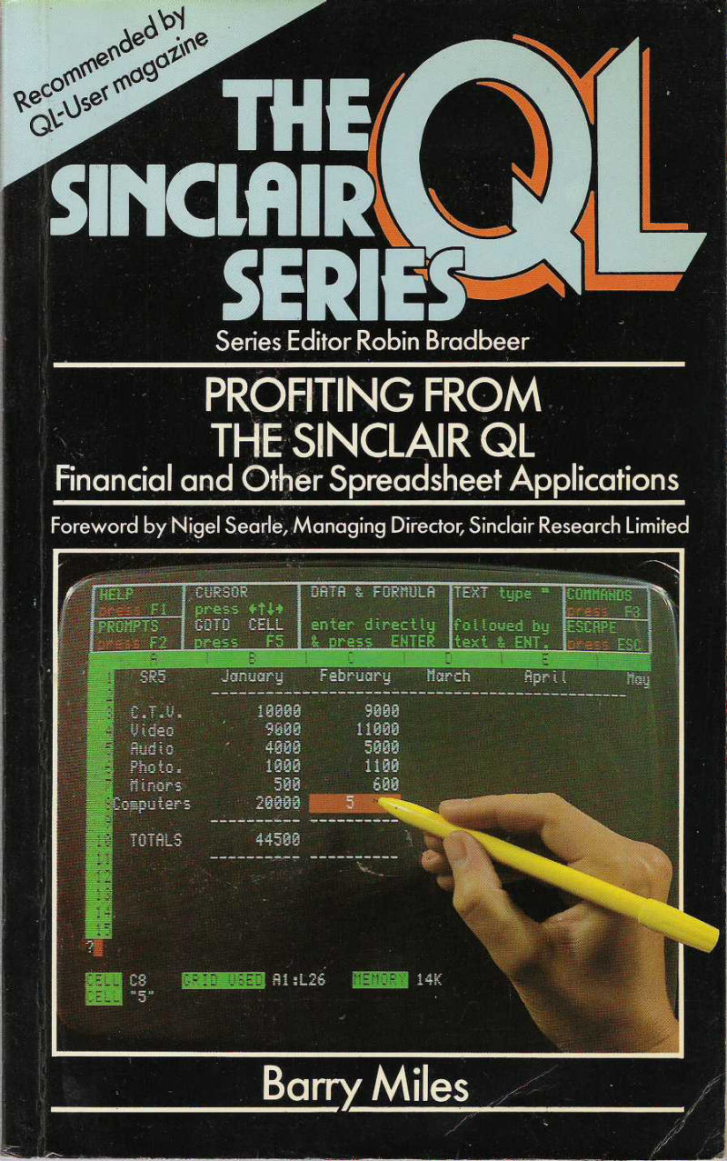 Profiting from the Sinclair QL screen