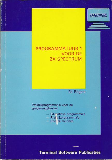 Programmatuur 1 voor de ZX Spectrum screen