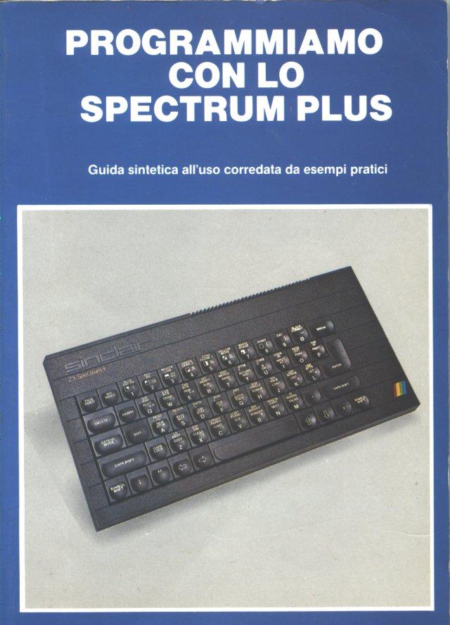 Programmiamo con lo Spectrum Plus image, screenshot or loading screen