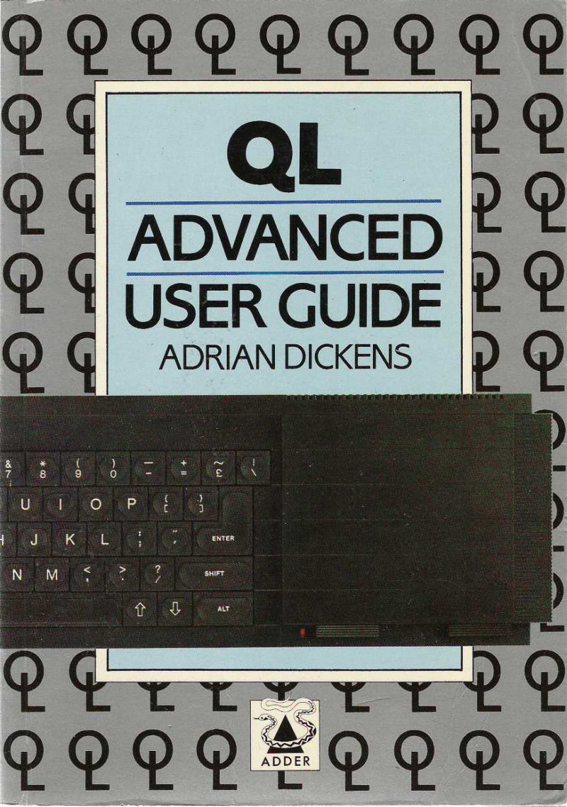 QL Advanced User Guide screen