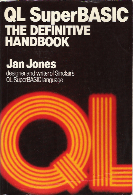 QL Superbasic: The Definitive Handbook screen