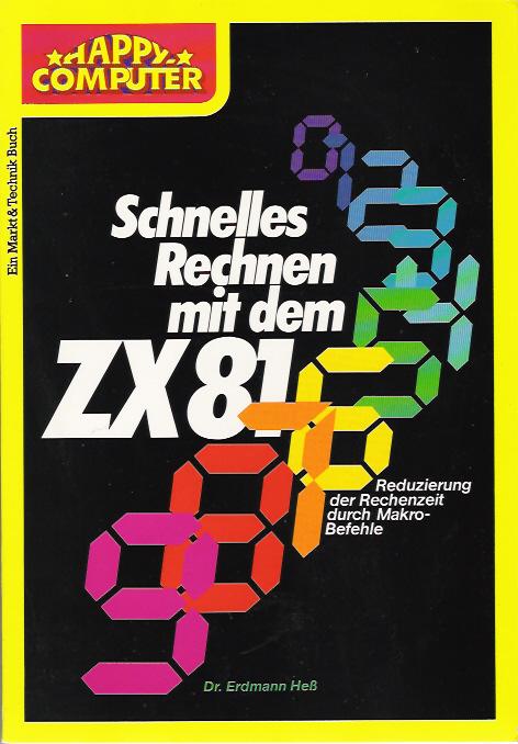 Schnelles Rechnen mit dem ZX81 image, screenshot or loading screen