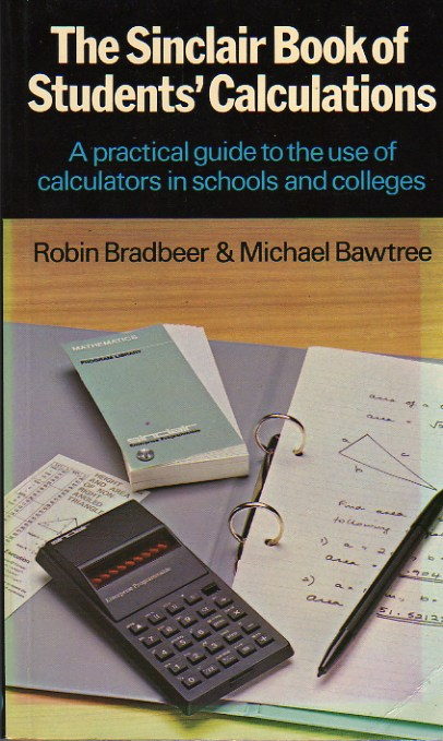 The Sinclair Book of Students' Calculations screen