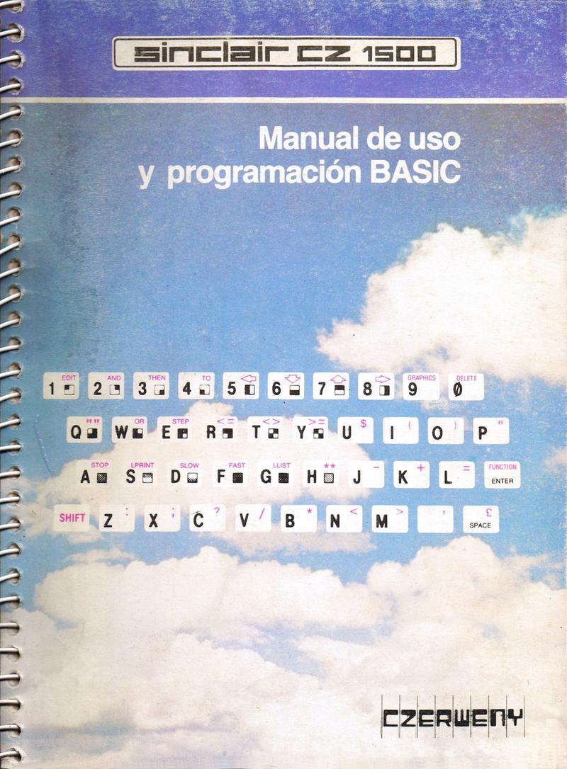 Sinclair CZ 1500 Manual de Uso y Programacion BASIC screen