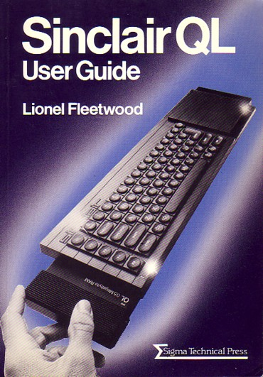 Sinclair QL User Guide screen
