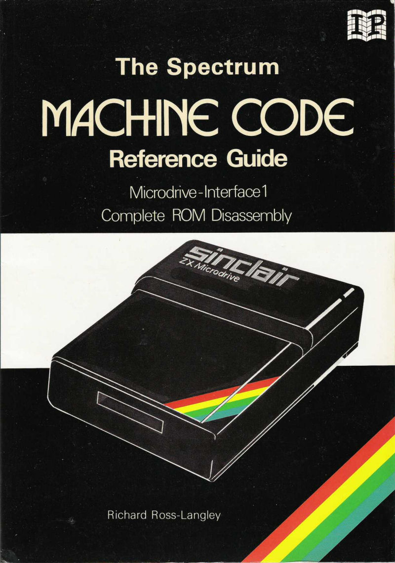 The Spectrum Machine Code Reference Guide image, screenshot or loading screen