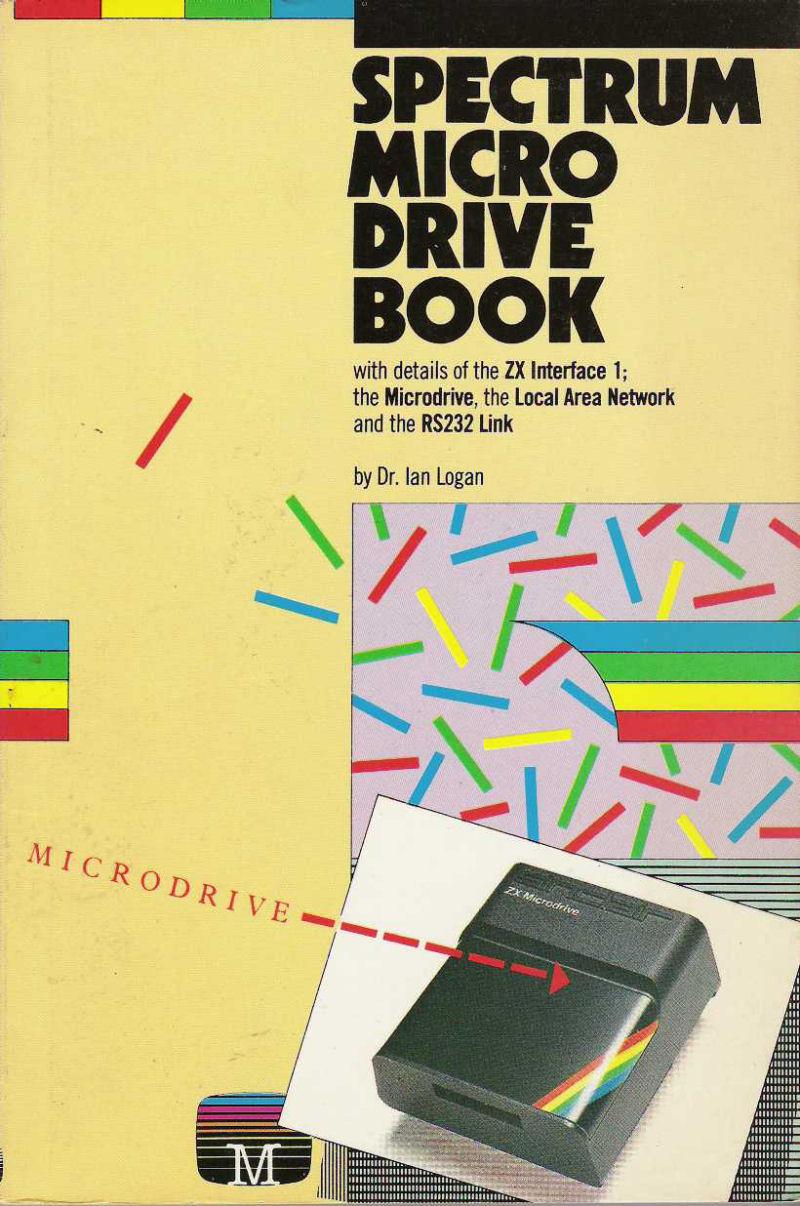Spectrum Microdrive Book screenshot