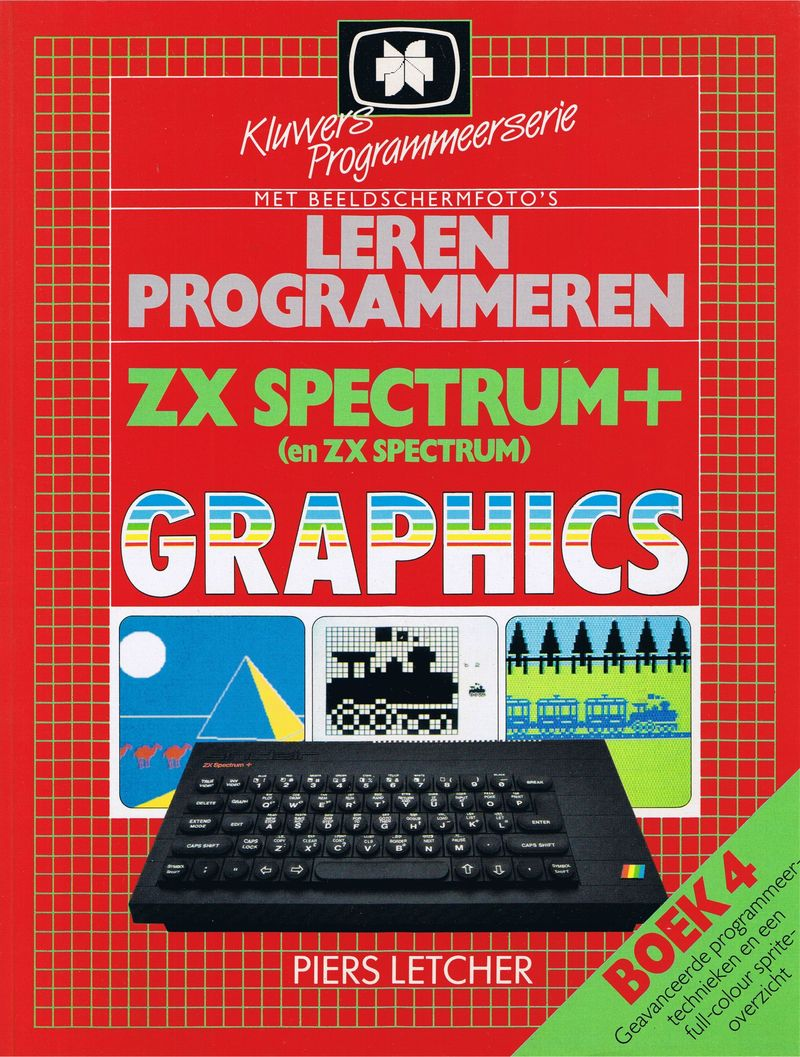 Step-by-Step Programming ZX Spectrum and ZX Spectrum+ Graphics - Book Four screen