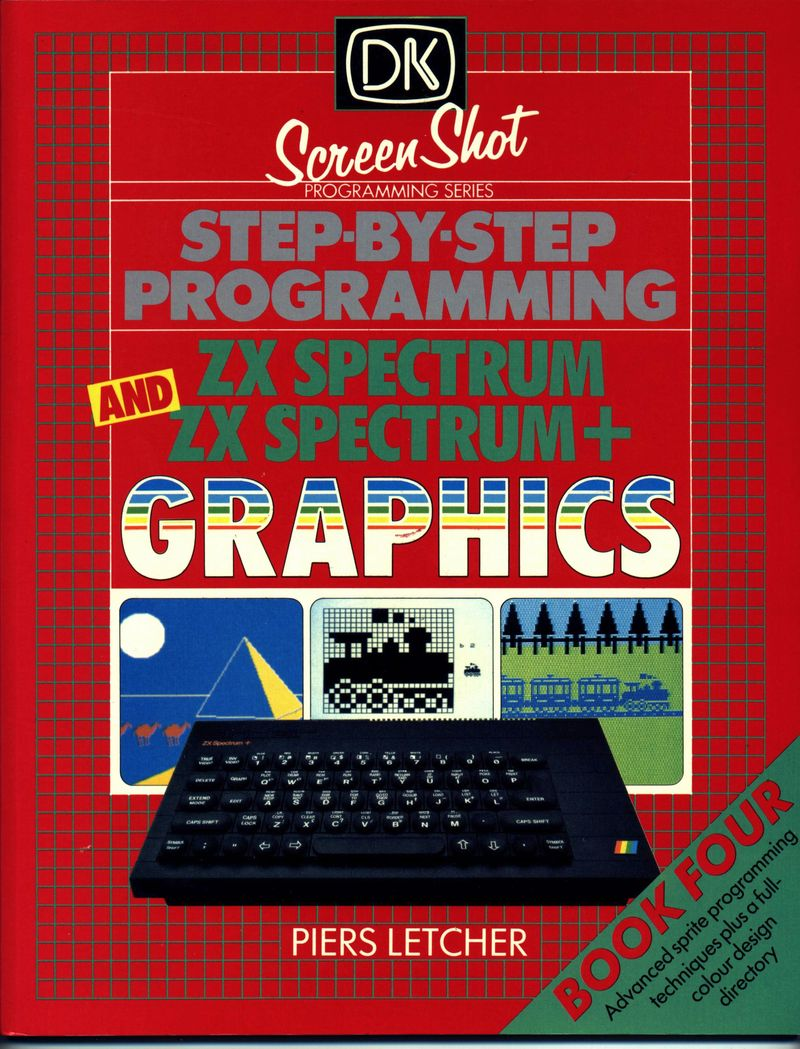 Step-by-Step Programming ZX Spectrum and ZX Spectrum+ Graphics - Book Four image, screenshot or loading screen