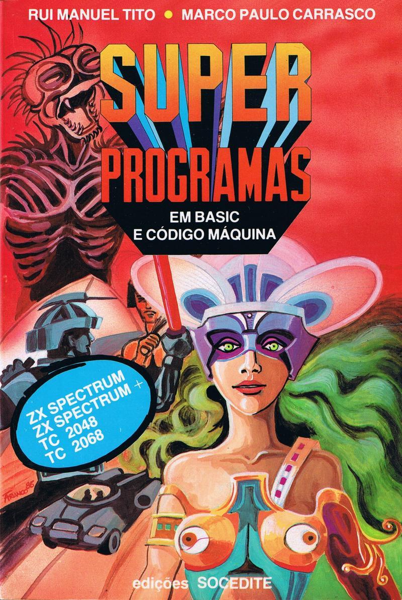 Super Programas em Basic e Codigo Maquina image, screenshot or loading screen