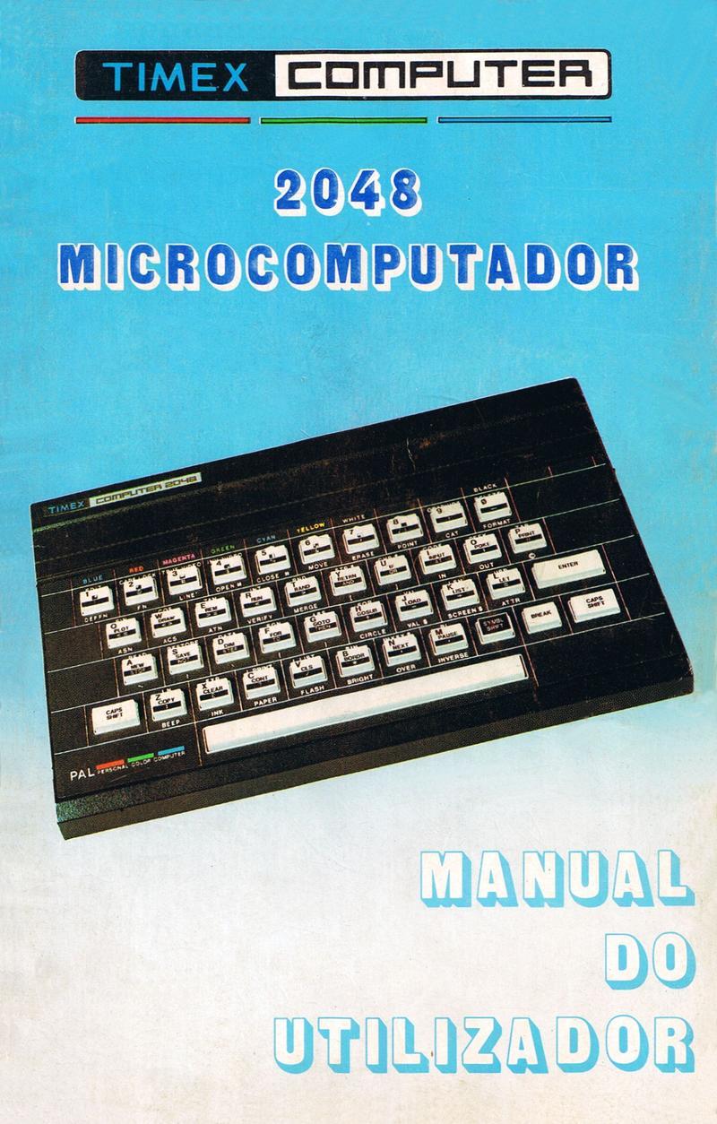 Timex Computer 2048 Manual do Utilizador screen