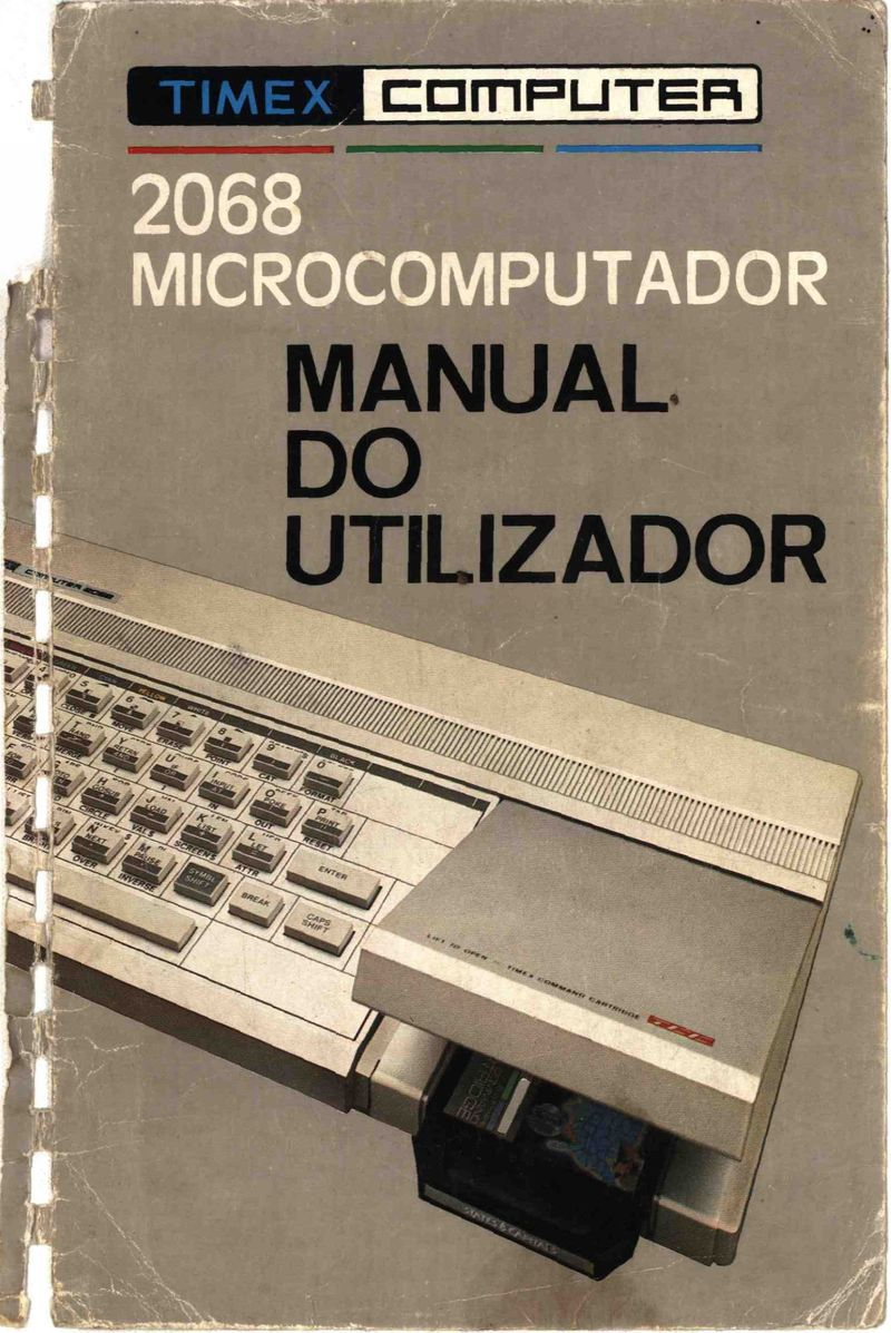 Timex Computer 2068 Manual do Utilizador screen