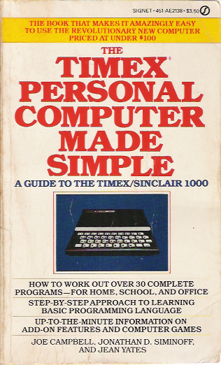 The Timex Personal Computer Made Simple image, screenshot or loading screen