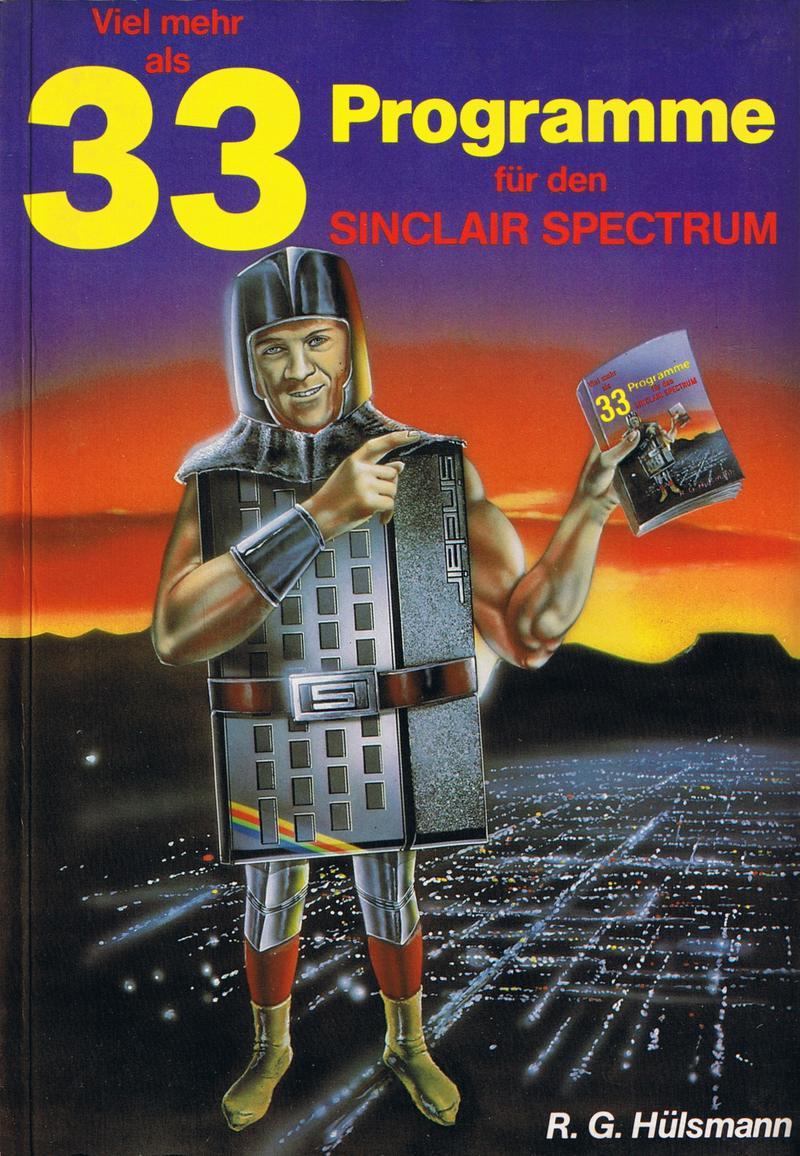 Viel Mehr als 33 Programme fur den Sinclair Spectrum screen
