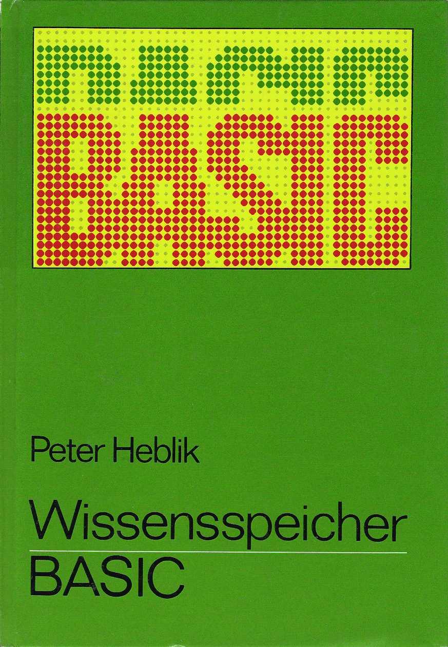 Wissensspeicher BASIC screen