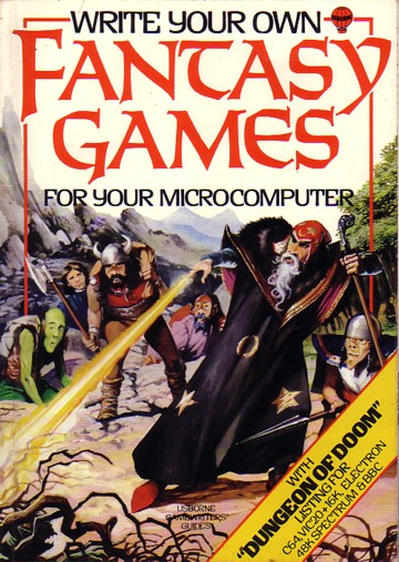 Write Your Own Fantasy Games for Your Microcomputer image, screenshot or loading screen
