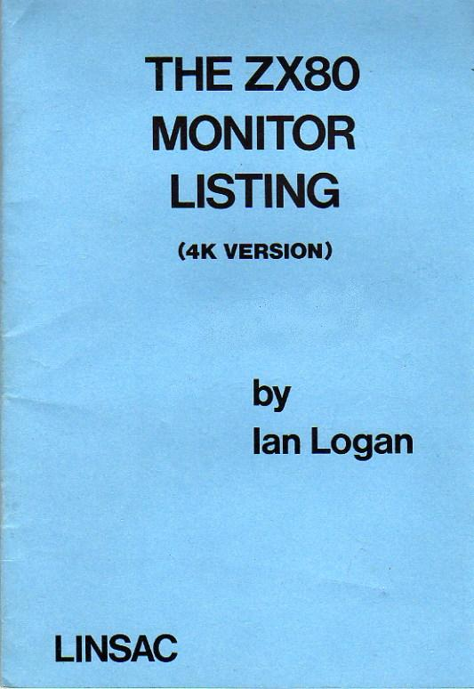 The ZX80 Monitor Listing image, screenshot or loading screen