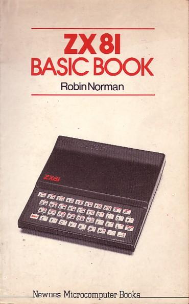 ZX81 BASIC Book screen