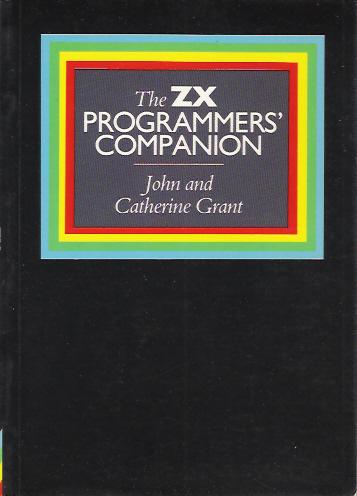 The ZX Programmer's Companion screen